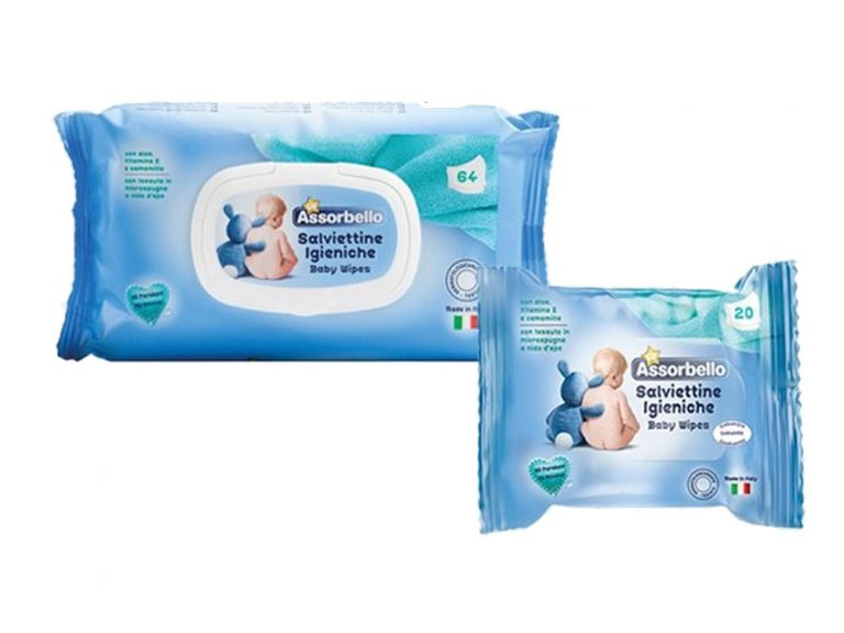 Assorbello Up Wipes